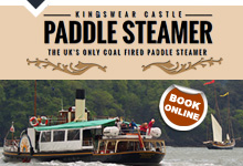 Kingswear Castle Paddle Steamer